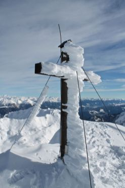 Gipfelkreuz Jakobsspitze