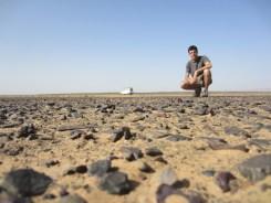 Mitten in der Steinwüste