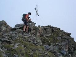 Schnelles Foto auf vom Gipfel