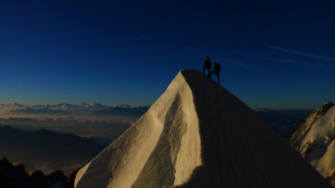 Mont Maudit – Kuffnergrat (4465mt) Mont Blanc (4808mt)
