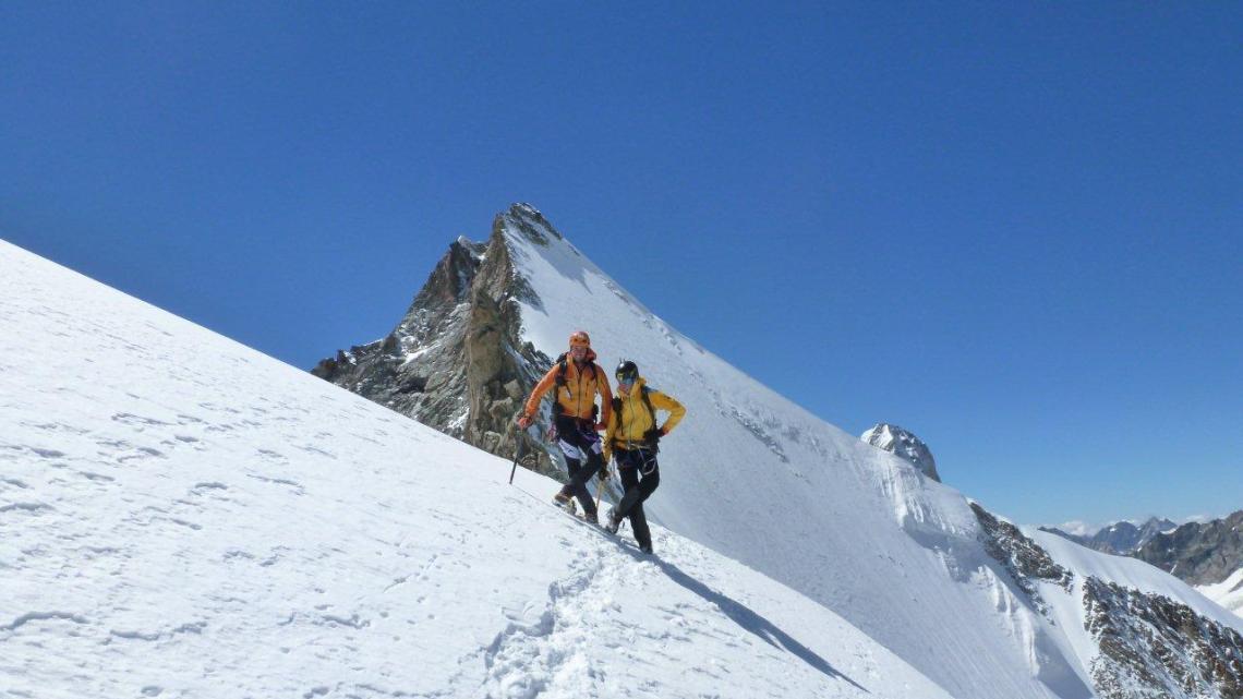 Obergabelhorn (4063mt) – Gesamter Arbengrat