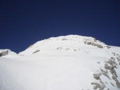 Gipfelflanke
