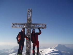 Gipfelfoto Tofana di Rozes