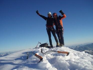 Zwei Gipfelstürmer