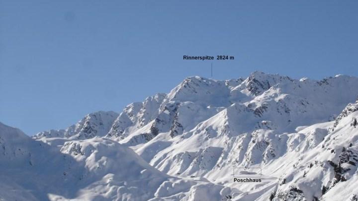 Rinnerspitz 2824 m