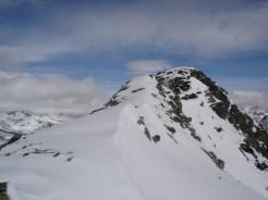 Das Gipfelkreuz ist nicht mehr weit
