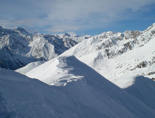 Skitour Schloterjoch (2264M)