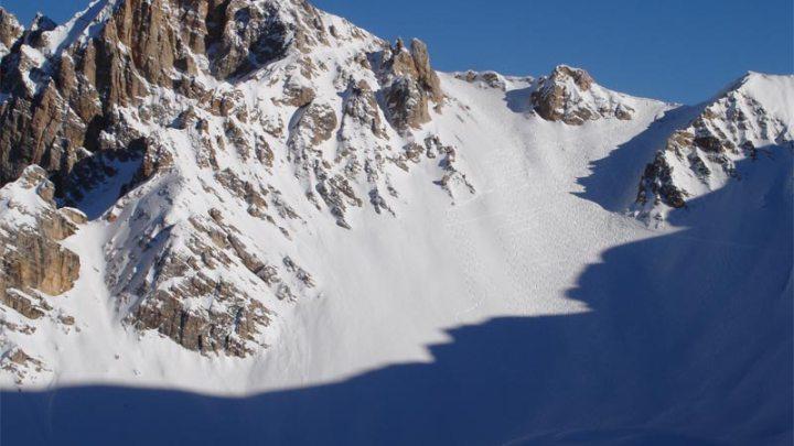 M. Sella di Sennes (2787m) Col de Ricegogn (2664m)