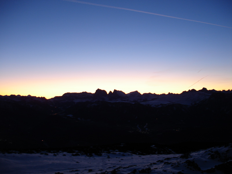 Sonnaufgang Rittner Horn (2262m)