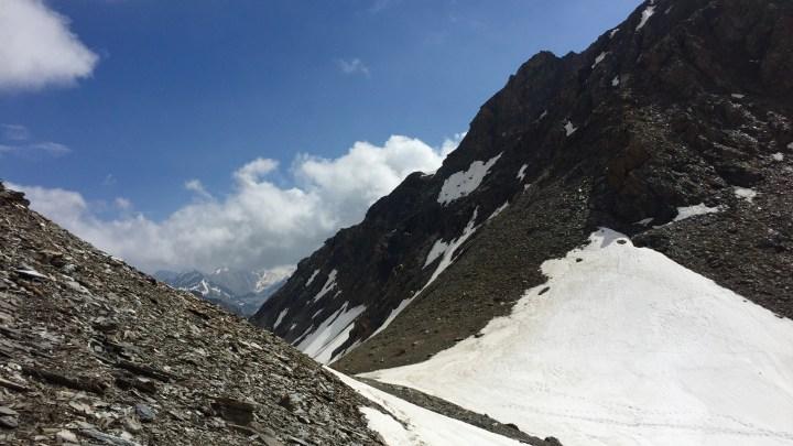 Wilde Kreuzspitze 3135m