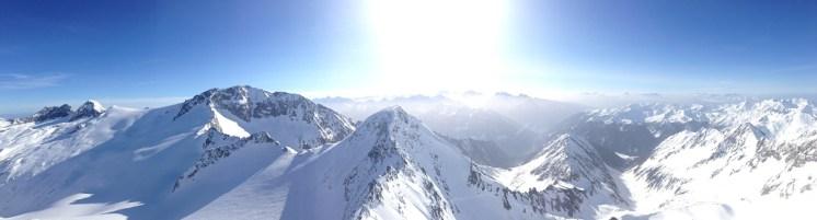 Panorama II Hornspitze