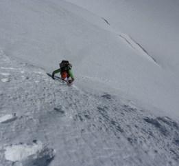 Schneewinkelkopf NW - Ausstieg