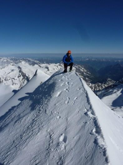 Schneewinkelkopf - Gipfel
