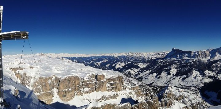 Sassongher(2665mt)  – Val Scura