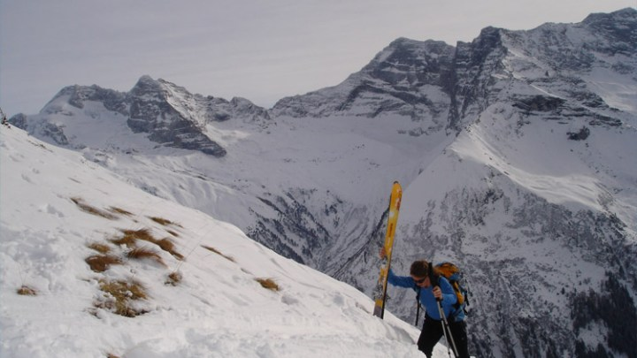 Gammerspitze von Valsertal in Nordtirol (2537m)