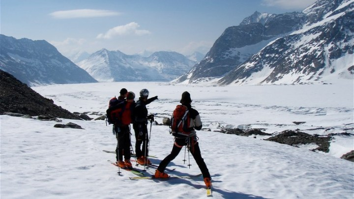 Skitourentage Aletschgletscher