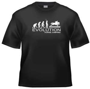 Evolution Horse Jumping t-shirt