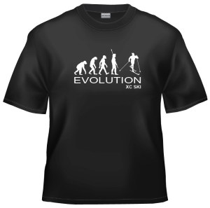 Evolution XC Cross country ski t-shirt