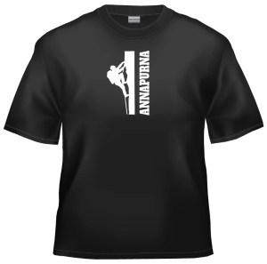 Rock climb ANNAPURNA t-shirt