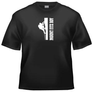 Rock climb Mount fitz roy t-shirt