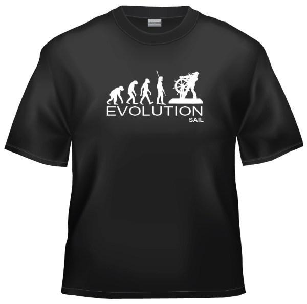 Evolution Sailor captain skipper t-shirt