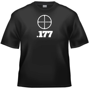 .177 Air Rifle t-shirt