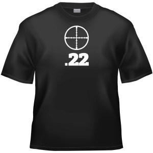 .22 Air Rifle t-shirt