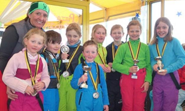 Ski – JO-Fun Abschlussrennen der Kleinsten im SC Gotthard Andermatt