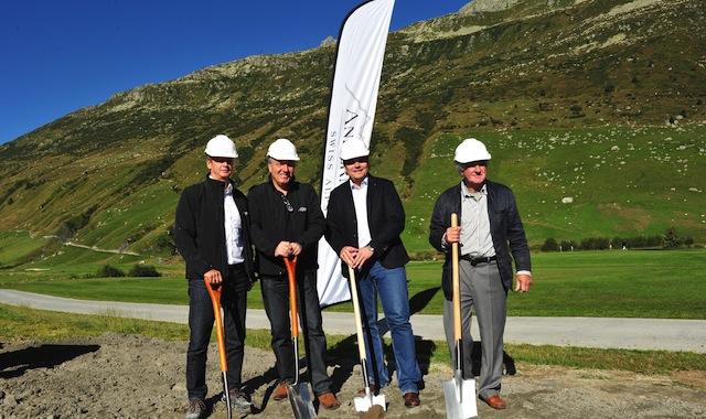 Die Entwicklung von Andermatt Swiss Alps geht weiter