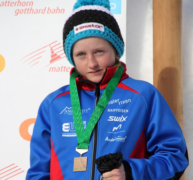 Alessia Nager Biathlon Februar 14