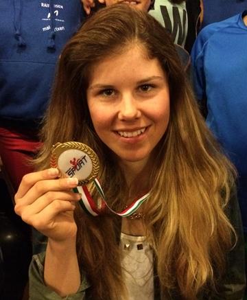 Aline Danioth ist das neue Goldkind von Andermatt