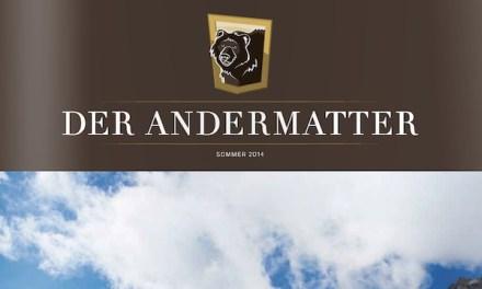 Der Andermatter, das Gästemagazin der ASA