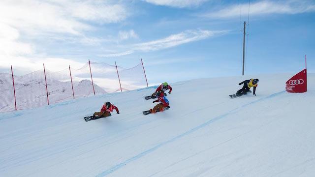 Open Snowboardcross CH-Meisterschaften in Sedrun