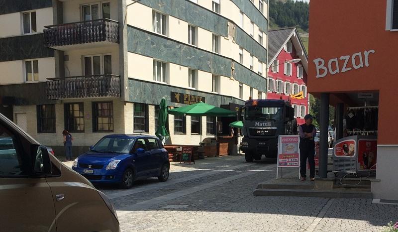 Dorf Lastwagen