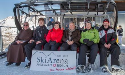 Erste neue Sechser-Sesselbahn eingeweiht