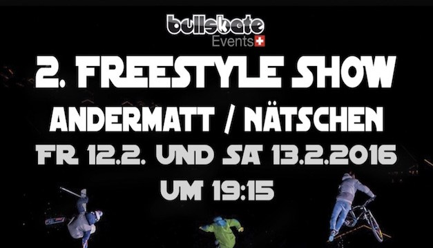 2. Freestyle Show in Andermatt