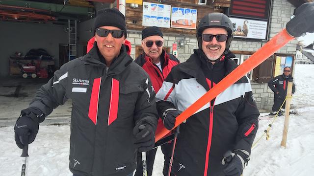 Letzte Fahrt des Skilift Alpsu