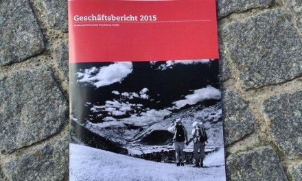 Geschäftsbericht der Andermatt-Urserntal Tourismus GmbH