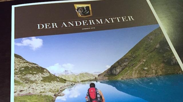 Neue Ausgabe vom Der Andermatt Magazin