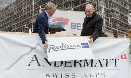Richtfest für Radisson Blu Hotel, Gotthard Residences und Apartment-häuser «Wolf» und «Edelweiss»