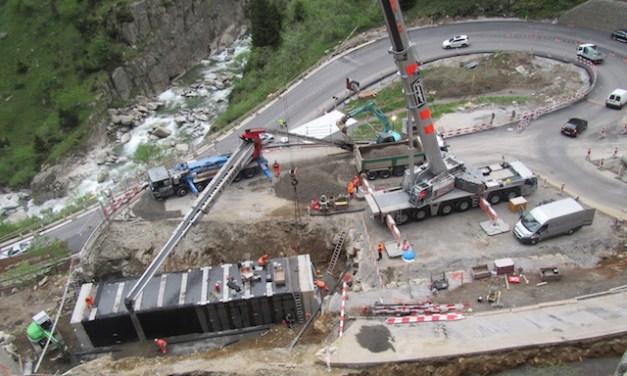 Schöllenen, Start der Bauarbeiten im 2017