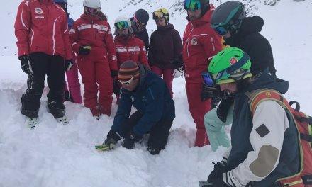 Zwanzigster Skilehrer Fortbildungskurs auf dem Gemsstock