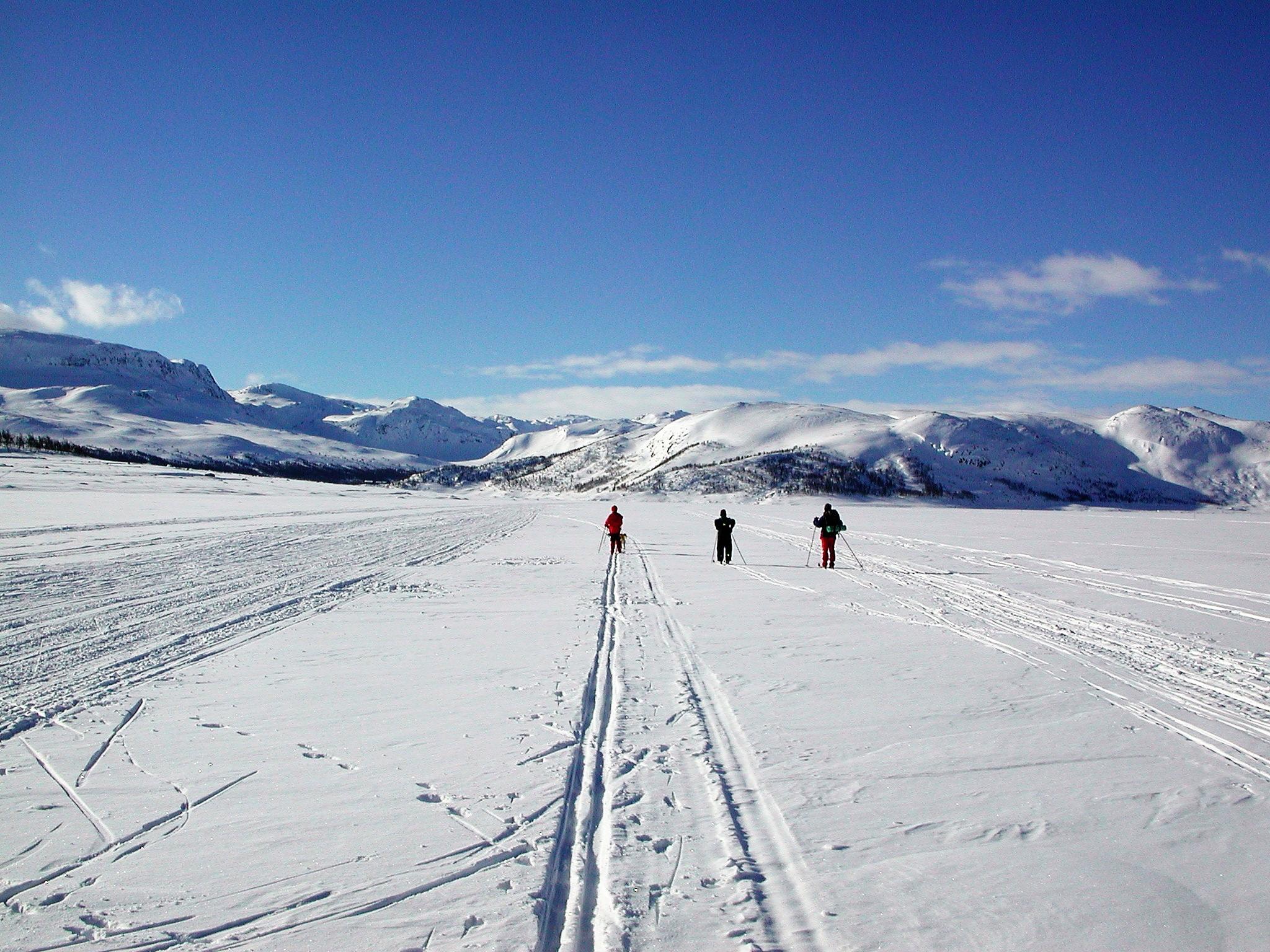Strandavatn skitur