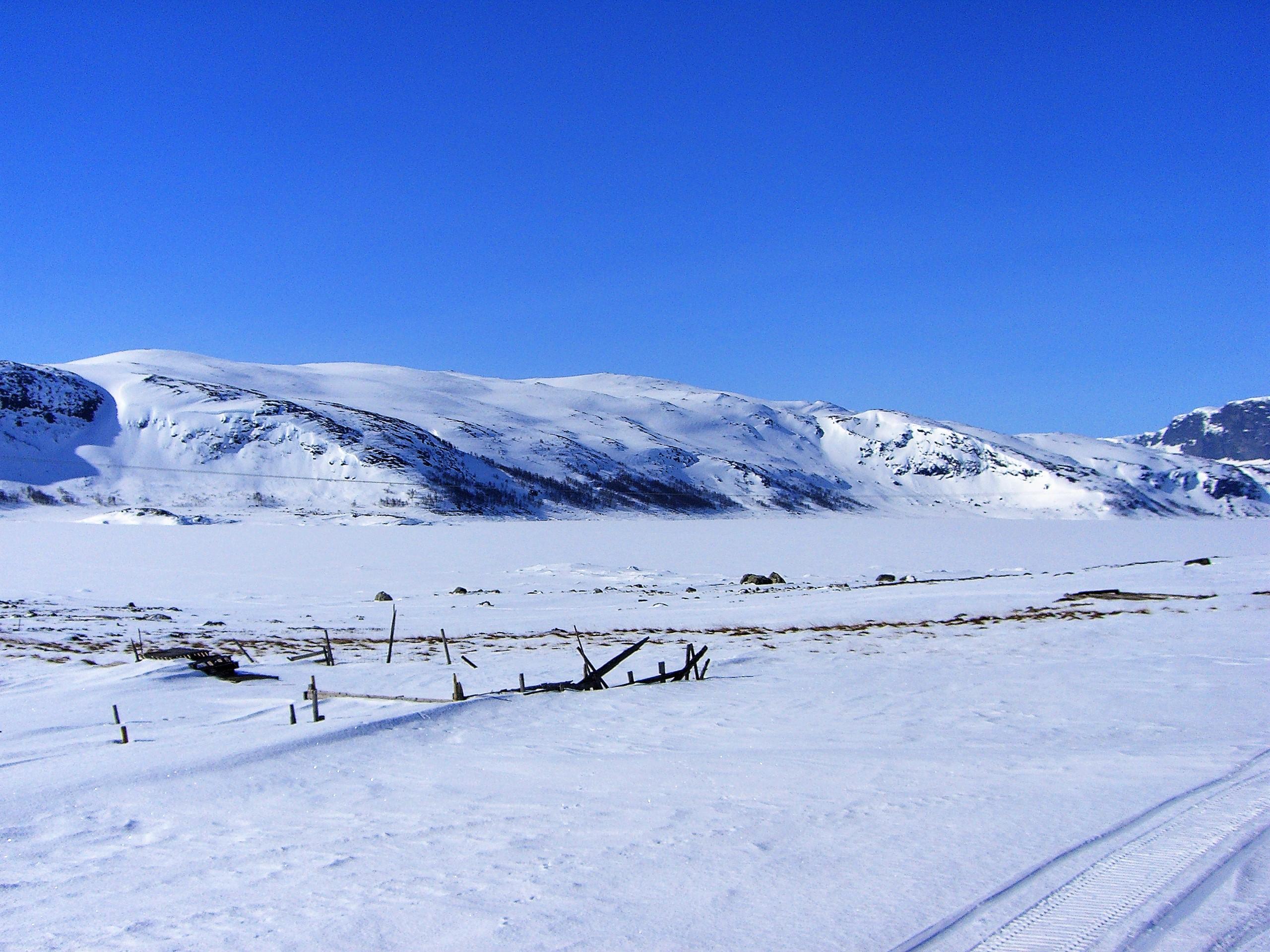 Utsikt fra BS mot vest vinter II