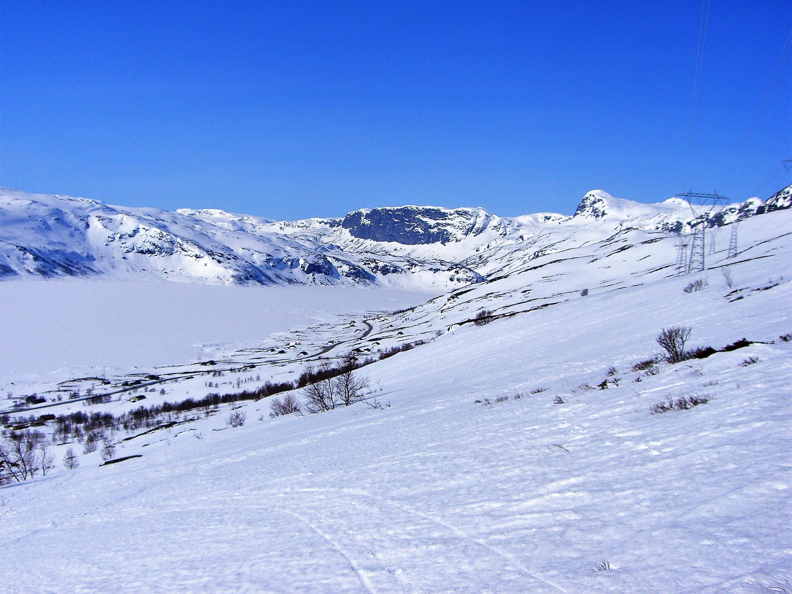 BS Strandavatn oversikt mot vest vinter