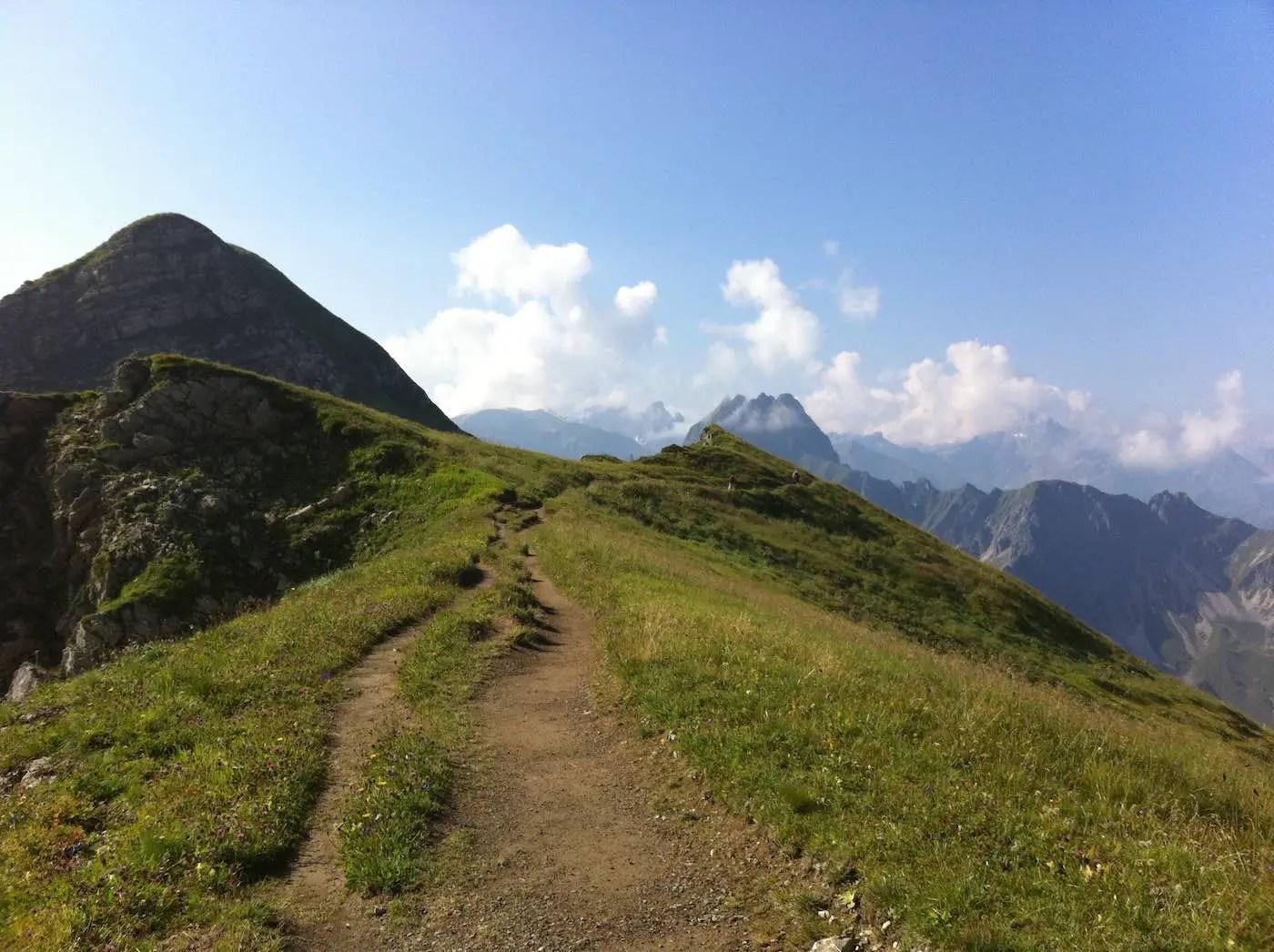 Höhenwanderung zum Laufbacher Eck