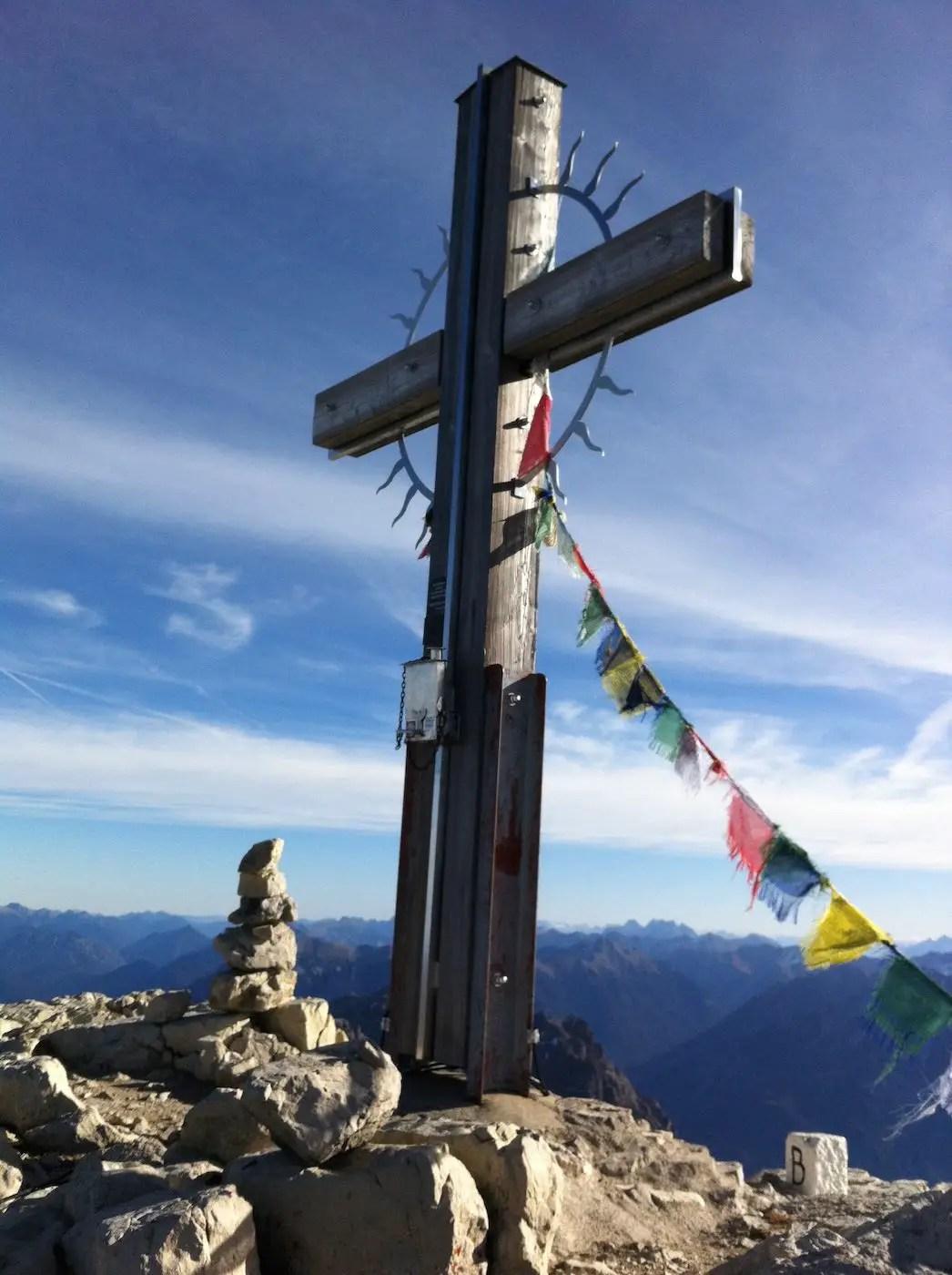 Gipfelkreuz des Hochvogel