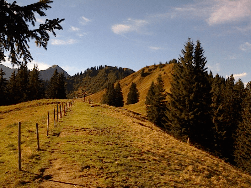 Glattweg zum Sonnenkopf
