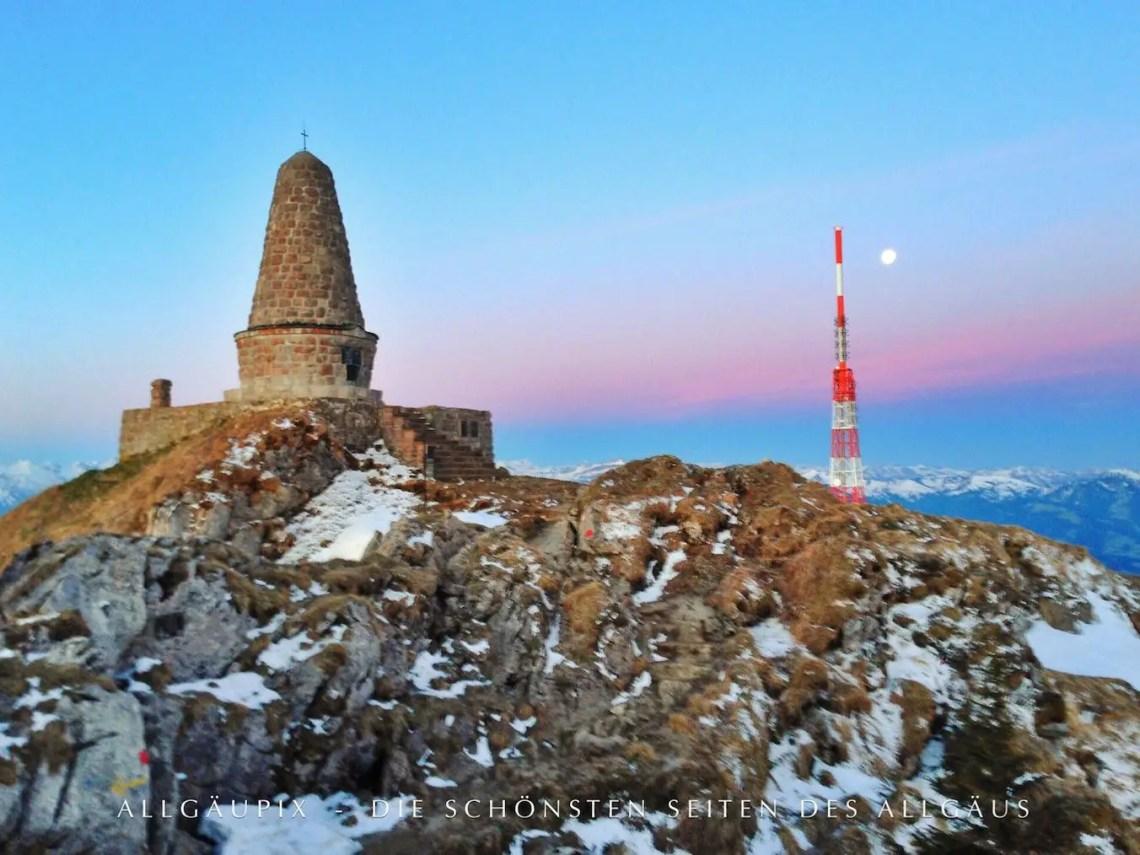 Jägerdenkmal im Winter