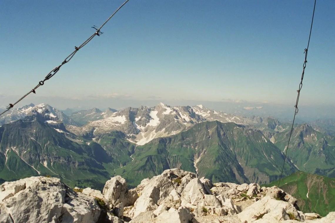 Auf dem Widderstein-Gipfel